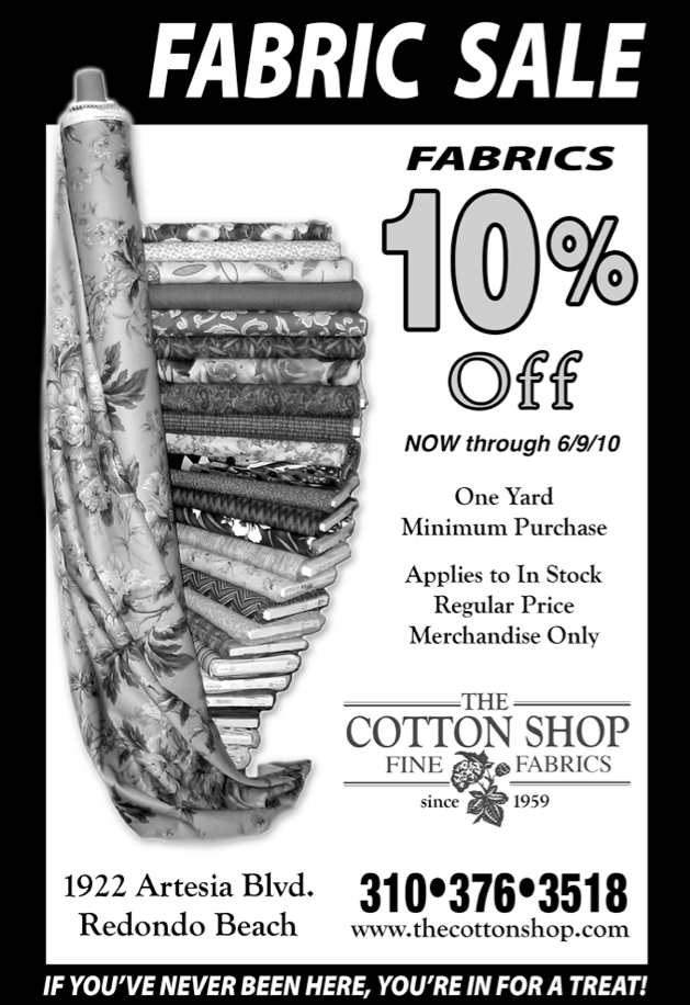 The Cotton Shop Ad