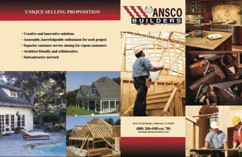 ANSCO Builders Brochure