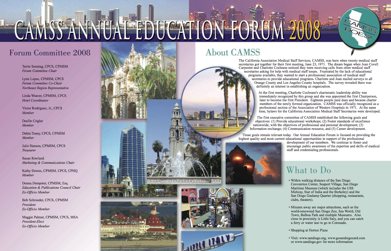 CAMSS Brochure inside