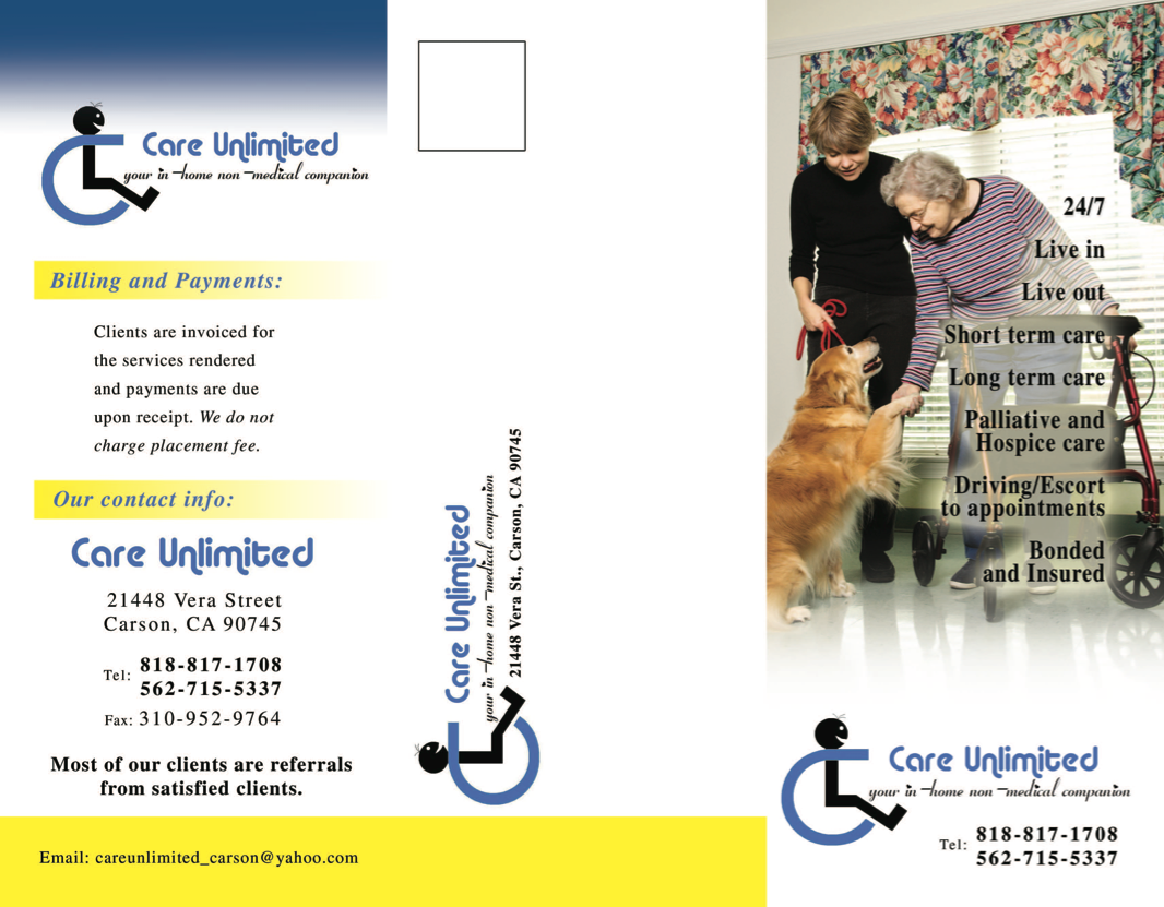 Care Unlimited Brochure