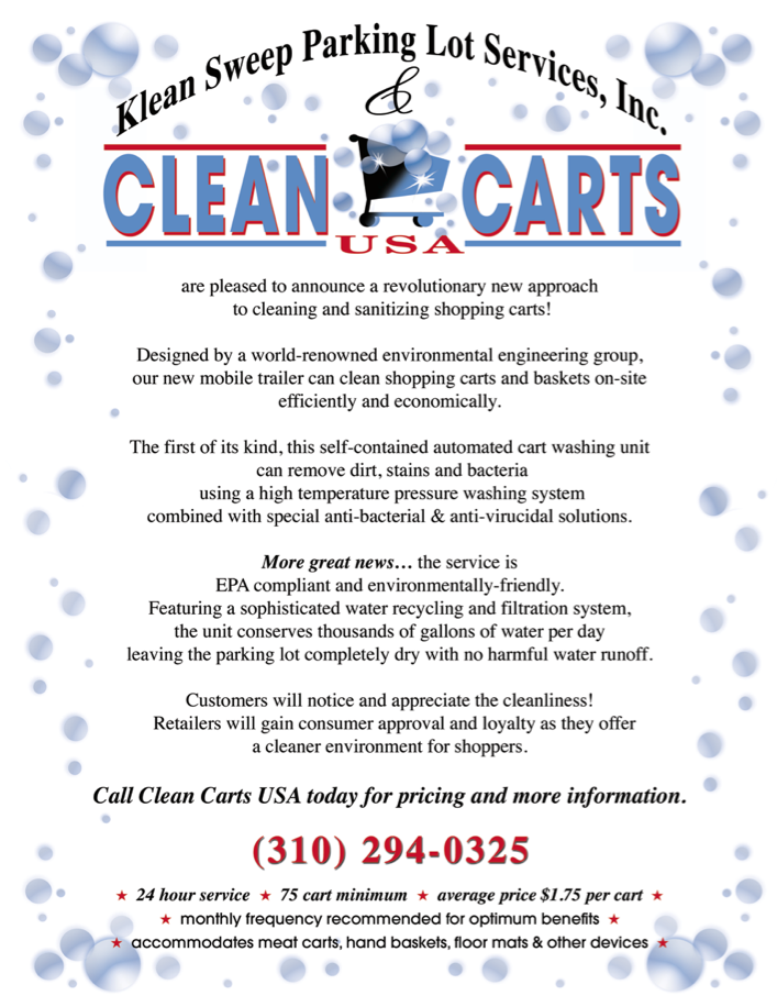 Clean Carts Flyer