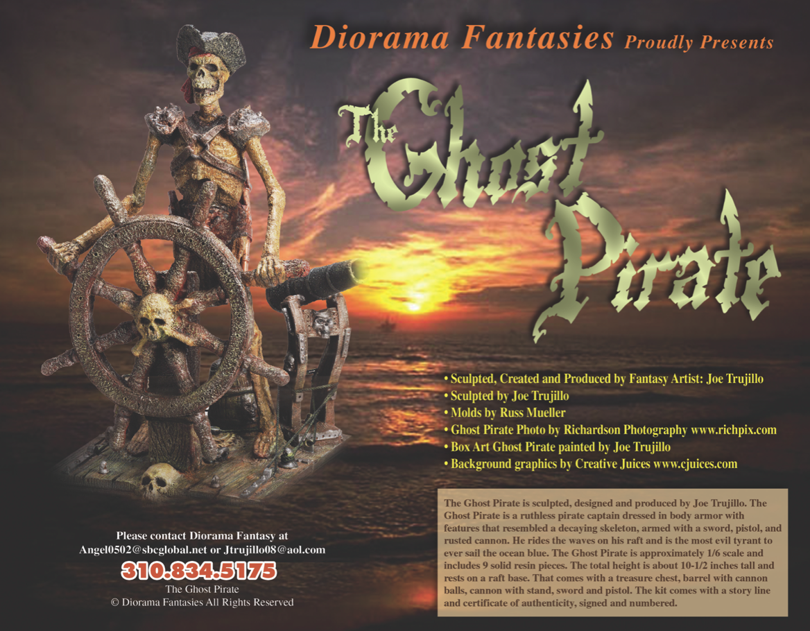 Diorama Fantasies Ghost Pirate