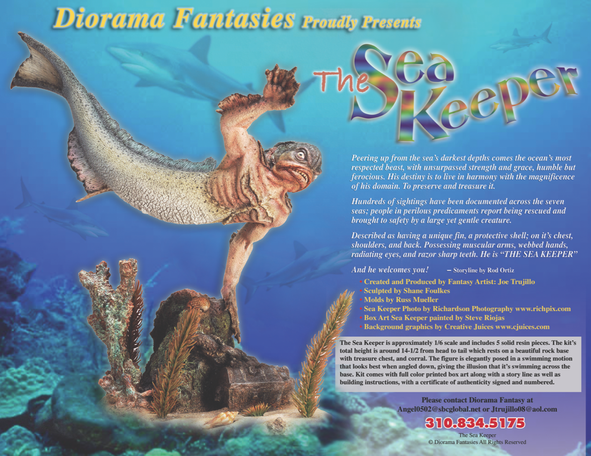 Diorama Fantasies Sea Keeper
