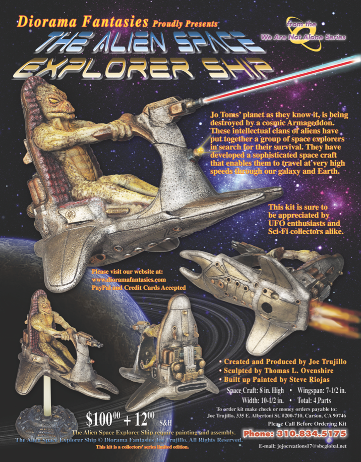 Diorama Fantasies Space Explorer