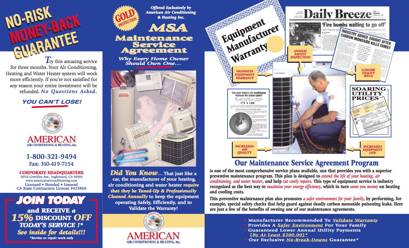 American Air Conditioning Brochure