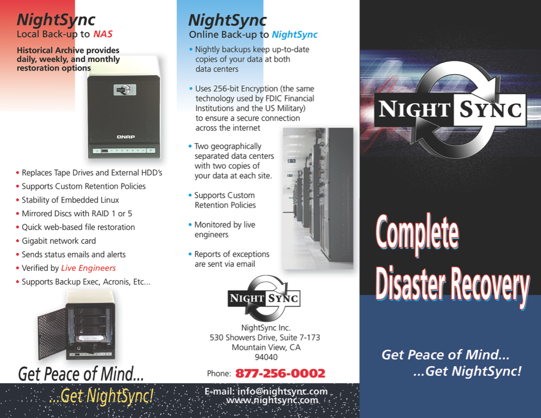 Night Sync Brochure