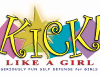 Kick Like a Girl Logo