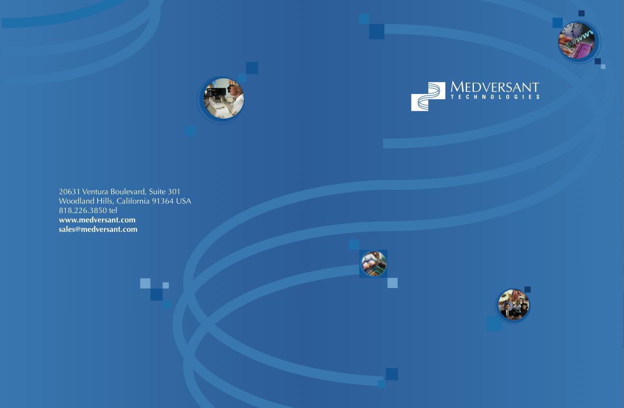 Medversant Presentation Folder