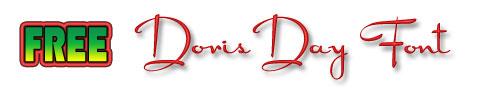 Free Doris Day Font