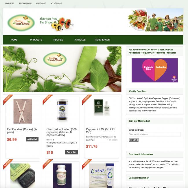 Choose Herbs 4 Health